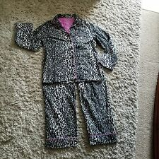 Nick Nora Animal Print Size Small Pajama Set 100% Cotton