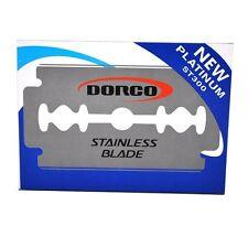 Nuovissima - 10x-DORCO-LAMETTE DA BARBA-lame-st-300-new - PLATINUM-STAINLESS-Blade