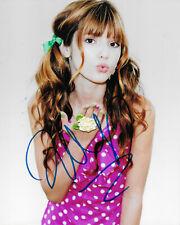 Bella Thorne Original Autogramm 8X10 Foto