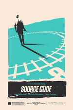 Olly Moss Source Code Mondo 2011 Limited Edition Movie Poster 16x24 #43/200