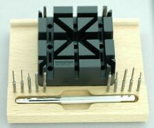 Horotec SWISS MADE Punch Set / Watch Link-Pin Removal Watch Bracelet Tool Set