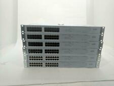 Lot 6x 3Com SuperStack 3 24-Port 10/100 Network Switch + Link Modules 3C17226