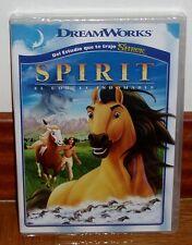 SPIRIT-EL CORCEL INDOMABLE-STALLION OF THE CIMARRON-DVD-NUEVO-PRECINTADO-SEALED