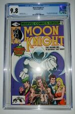 Moon Knight #1 (CGC 9.8) White Pages; 1st Raoul Bushman, 1980