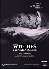 Witches & Wicked Bodies Exhibition Poster - Henry Fuseli John Raphael Smith