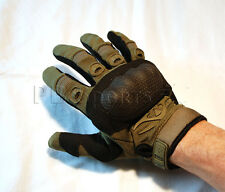 Valken Zulu Od Olive Tactical Full Finger Paintball Airsoft Gloves Large L New