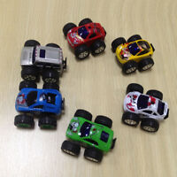 1 Pcs Mini Children Kids Big Wheels Metal Die-cast Pull Back Car Model Toys Gift