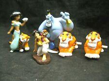 x5 Disney Aladdin Character Collectible Toys Action Figures Jasmine Rajah Genie