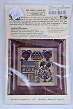 The Heart's Content Fruitful IV Counted Cross Stitch Kit Thread Linen