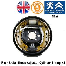 Peugeot 206 Rear Brake Shoes Set Adjuster Wheel Cylinder & Fitting Genuine TRW