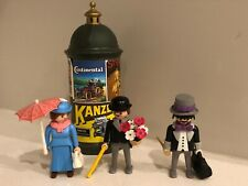 VINTAGE PLAYMOBIL 5350 Victorian Advertising Kiosk