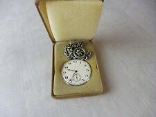 Ancienne montre gousset Maty, Incabloc 17 rubis, Swiss Made, vintage