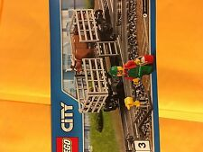 Lego Train Cattle Car With Cow And Mini Figure