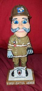 Auburn Doubledays Abner Firefighter Fire Man Bobblehead Rare SGA Baseball MiLB