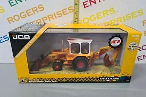 Britains 43280, Weathered JCB 3C Mark III, 1:32 Scale Diecast Vehicle NEW, Boxed