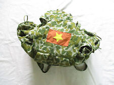 1 Viet Cong NLF Combat Rucksack ( Backpack ) - VC -  3 pockets,