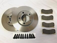 1965-69 LINCOLN DISC BRAKE ROTOR DISCS, PADS & 10- WHEEL STUDS USA MADE