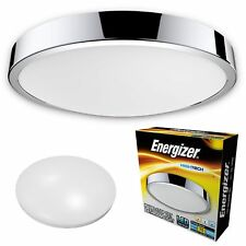 Energizer LED Warm, Cool or Daylight White IP44 Bathroom Rated CCT Light Fitting