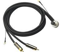 Offiziell Brandneu Linn Schwarz Ton Arm Kabel T-Kable 1.2 Meter