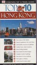 TOP 10 HONG KONG CHINA - EYEWITNESS TRAVEL GUIDE MAPS PICS INFO EXCELLENT AS NEW