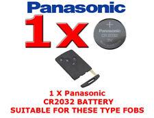 1 X PANASONIC BATTERY FOR RENAULT CLIO LAGUNA MEGANE SCENIC KEY CARD FOB CR2032