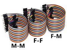120x Dupont Kabel 30cm m-m w-w m-w Jumper Draht Brücke Arduino DIY GPIO