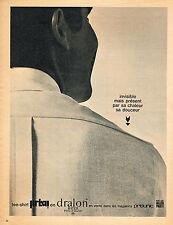 PUBLICITE  1966   PRISUNIC   tee-shirt pret à porter