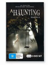 A Haunting : Season 4 (DVD, 2011, 3-Disc Set), Like new, free shipping