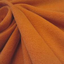 Stoff Meterware Fleece antipilling weich knitterfrei orange Karotte Möhre