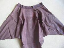 BNWT Resort Brown Shaped Hemline Beach Skirt Size 10