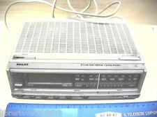 RADIOSVEGLIA PHILIPS D 3200 ELECTRONIC orologio da letto di Radio Lettore Ora