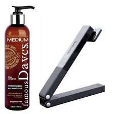 Famous Dave's Moisture Tan SELF TANNER & Back Applicator