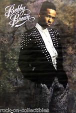 Bobby Brown 1989 Original Store Poster New Edition