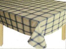 Green Maple Leaf Check Tablecloth - 150cm x230cm 6-8 seat