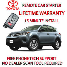 13, 14, 15 TOYOTA RAV4 REMOTE START-NO WIRE SPLICING -SMART KEY ONLY