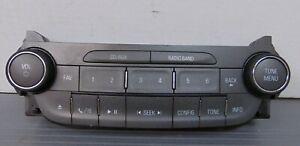 2013 CHEVROLET MALIBU RADIO SINGLE CD DASH CONTROL PANEL 22880998 NICE OEM