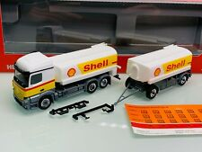 Herpa 310437 Shell MB Actros 11 StreamSpace Benzintank HZ in OVP
