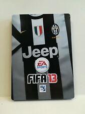 FIFA 13 JUVENTUS STEELBOX STEELBOOK, NO GAME, NO GIOCO, NEW, NUOVA