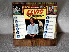 ELVIS PRESLEY~ELVIS FOR EVERYONE~MONAURAL~RCA LMP-3450~POP LP