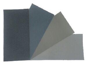 "Micro-Mesh Regular Abrasive Polishing Cloth Pack - 4 Sheets 6""x3"""