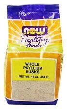 NOW Foods - Psyllium Husks Whole - 1 lb.