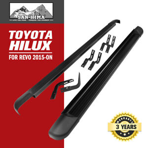 SAN HIMA Side Steps Running Boards For Toyota Hilux Revo Dual Cab 2015 - CURRENT