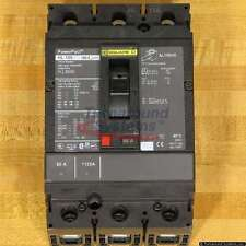 Square D Hll36080 Circuit Breaker, 80 Amp, 100 kAir, Used