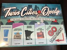 Twin Cities Opoly Monopoly Board Game New