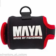Maya Fishing Casting Jigging Reel Cover Case Neoprene Tackle Accessory