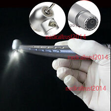 dental high Speed E-generator LED Handpiece large torque Push button 3way 2hole