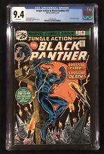 JUNGLE ACTION 21 ~ CGC 9.4 WHITE Pgs ~ BLACK PANTHER vs KKK ~ Iconic Cover Lot 1