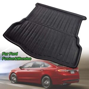 Rear Trunk Boot Mat Liner Cargo For Ford Mondeo 2013 2014-2019 Tray Floor Carpet