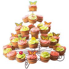 Andrew James 5 Tier Cupcake Stand Metal Cake Display Holder Wedding Birthday