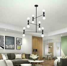 Nordic 12-lights Arms Rotatable Chandeliers Pendant Lighting Ceiling Fixtures